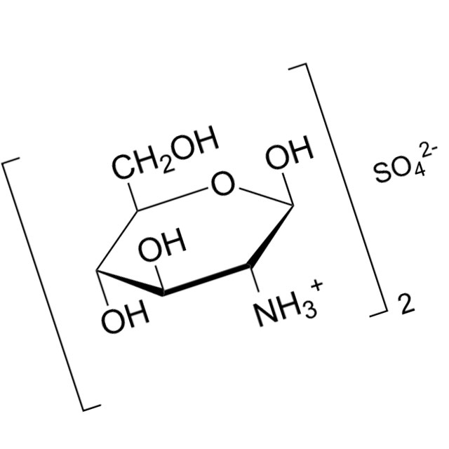 Глюкозамин - формула