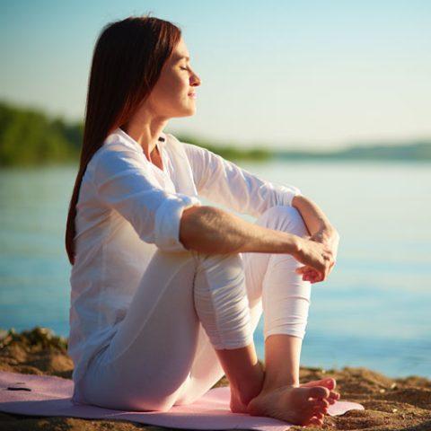 йога срещу стрес - снимка